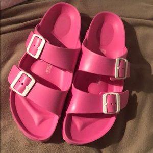 Pink Waterproof Birkenstock's